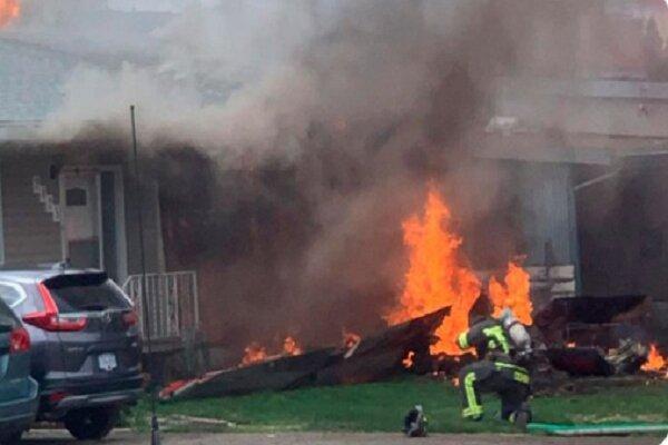 یک جنگنده نیروی هوایی بولیوی سقوط کرد، 3 نفر کشته و زخمی شدند خبرنگاران