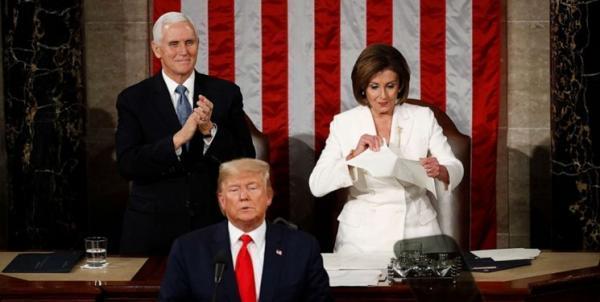 شوک ناشی از پیروزی ترامپ در انتخابات 2016 پلوسی را از بازنشستگی منصرف کرد