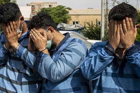انهدام باند توزیع شیشه در تهران ، 5 متهم دستگیر شدند