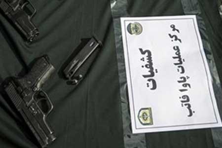 انهدام باند قاچاق سلاح و مهمات در تهران ، قاچاقچیان دستگیر شدند