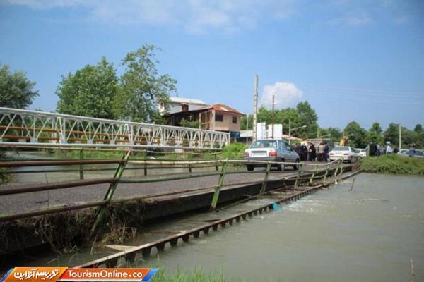 شروع عملیات پروژه بازسازی پل خمام رود سنگر