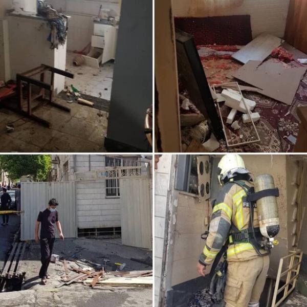 انفجار مرگبار خانه ای در تهرانپارس