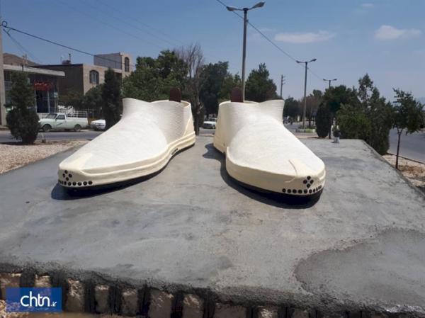 نشان گیوه در بوانات فارس نصب شد